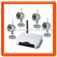 China Boust 2.4g Wireless Camera Kit with 4 Night Vision Cameras (BST-S802H4) on sale
