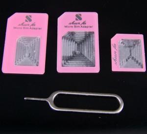 China Dual SIM Card Adapter, Micro SIM Adapter, for iPhone 5 Dual SIM Adapter on sale