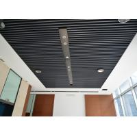 Quality Artist Aluminum Alloy Commercial Ceiling Tiles / Square Tube Screen Ceiling for sale