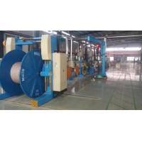 Outdoor Fiber Optic Cable Production Line Cable Jacketing Machine With Metal