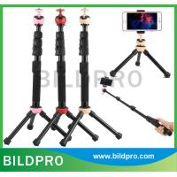 China Mobile Phone Self Sticks Camera Mini Tripod Monopod Aluminum Bluetooth Selfie Stick Holder on sale