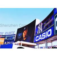 Big waterproof Stadium LED Display for advertising P16 2 Years Warranty Manufactures