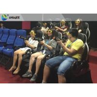 Mini Home Cinema 7d Interactive Theater , Luxury Seats 7d Cinema Equipment Manufactures