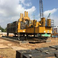 China Hydraulic Pile Driver 360T Piling Capacity on sale
