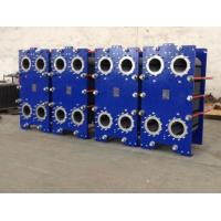 China Lightweight  Titanium Plate Heat Exchanger Evaporation For Juice Milk Refinery on sale
