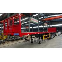 shipping 30ft 53ft 60ft 30 feet 53 feet 60 feet 48 60 ton container transport flatbed trailer Manufactures