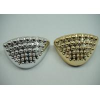 Durable Golden / Plated Silver Toe Cap Round Shape Footwear Accessories Manufactures