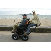 Climbing stairs electric motorized wheel chair OB-EW-020 Double Traveller Wheelchair Manufactures