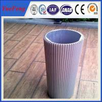 HOT! Reliable chinese supplier aluminum extrusion starter housing, cnc precision tube Manufactures
