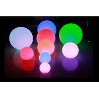 IP65 16 Color Changing LED Night Light Battery Operated / LED Floating Ball Manufactures