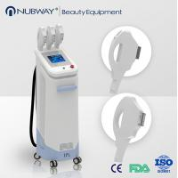 beauty equipments/ newest design best quality 3 handles ipl hair removal salon machine Manufactures