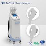 Multifunctional 3 handles ipl laser hair removal machine by Beijing Nubway Manufactures