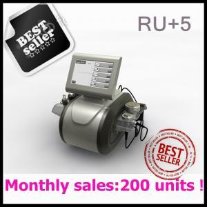 Portable RF Vacuum Cavitation Slimming machine RU+5 Manufactures