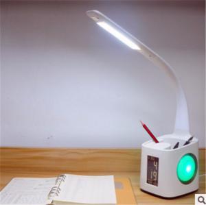 LED Desk lamp calendar, temperature display, bedside lighting, study, reading for children Manufactures