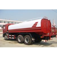 Sinotruk ISO CCC Liquid Tanker Truck , Water Truck Tanks Green Water Carrying 15 - 25CBM Manufactures