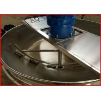 China Stainless Steel Electric Steam Jacketed Kettle , Electric Tilting Kettle For Food Industry on sale
