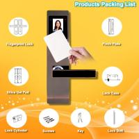 Anti Scratch RFID Card Door Lock Advanced Identity Technology Long Life Time Manufactures