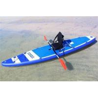 250L Volume Beginner Stand Up Paddle Board 15PSI Diamond Shaped Mat Design Manufactures