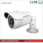 White Metal CCTV HD IP Camera 30M IR Distance 1080P Home Security IP Camera Manufactures