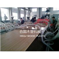 Foamed Door Panel Wpc Board Machine 255kw Total Power Energy Saving Plastic Extrusion Lines Manufactures