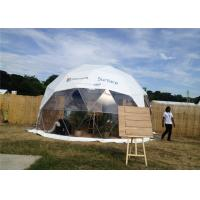 Semi - Permanent 10m Diameter Geodesic Dome Tent Party Steel Structure For Gathering Manufactures