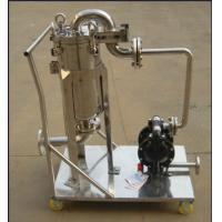 Ss304 Ss316 Stainless Fermentation Tank Movable Bag Filter Housing Manufactures