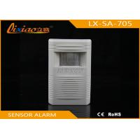 Anti Interference System PIR / Motion Home Security Alarm With Chime Manufactures