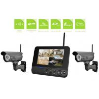 China Ip66 Weatherproof Video Surveillance Camera Systems Two Camera Security System on sale