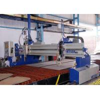 Precision Rack CNC Flame Plasma Cutting Machine Lathe Table Design 3200 X 24800mm Manufactures