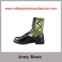 China Wholesale China made Camouflage Color Military Jungle  Boots on sale