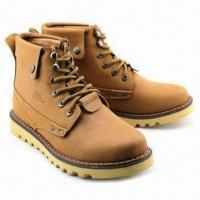 Men's Casual Shoes, Genuine Leather Upper, Rubber/PU Outsole Manufactures