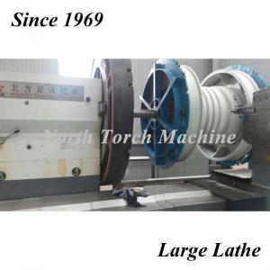 China NTM Horizontal Lathe Machine , Precision Metal Lathe For Pump Body on sale