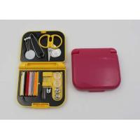 China Custom Professional Mini Sewing Kit Items With Comb / Emergency Sewing Kit on sale