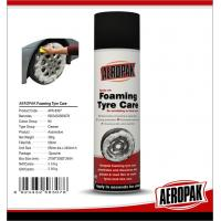 Anti Fading Car Care Products Foaming Wheel And Tire Cleaner Dissolves Dirt / Oil Manufactures