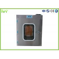 Electronic Interlock Stainless Steel Pass Box , Pass Box Clean Room High Cleanliness Manufactures