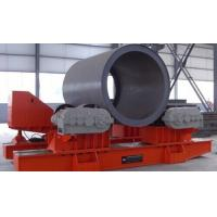 Quality Wheels Up Down Pipe Rotators for Welding Hydraulic Control for preventing cylinder move for sale