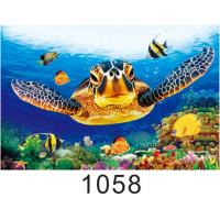 China High Definition 3D Lenticular Pictures Gloss Or Matte Varnish Surface on sale