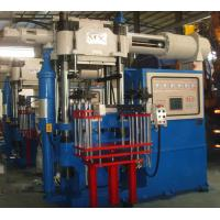 China Horizontal Injection Molding Machine With Double Helical Loop Temperature Control on sale