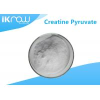 99% Creatine Pyruvate Supplement Raw Material CAS 55965 97 4 White Powder Manufactures