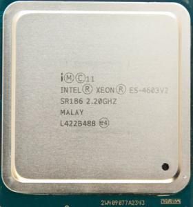 China Quad - Core Intel Xeon E5 4600 v2 SR1B6 5 GT / s DMI E5 4603 v2 10M Cache on sale