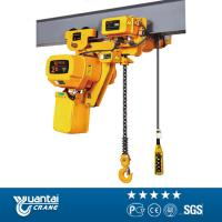 Yuantai 5ton electric traveling chain hoist Manufactures