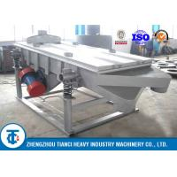 SOP Fertilizer Compost Screening Machine , Carbon Steel Rotary Drum Sifter Manufactures