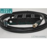 Black Camera USB Cable With Screw Locking Connector Manufactures