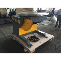 5 Ton Rotary Welding Positioners With 3kw Tilting Motor , 0.14 Rpm Tilting Speed Manufactures