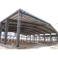 Sugar Factory Steel Structure Workshop Hot Dip Galvanized Frame Construction Manufactures
