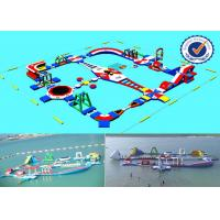 2000M2 Water Area Inflatable Water Parks , Amusement Sea Water Sport Games Manufactures