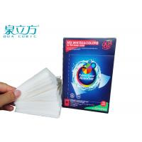 Washing Machine Color Catcher For Non Woven Fabric Color / Dirt Absorption Manufactures