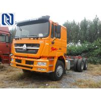 SINOTRUK HOWO 336hp Prime Mover Truck , Unloading Diesel 4x2 Trucks , Color Can Be Selected for sale