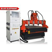 4 Axis Cnc Router Metal Engraving Machine Taiwan Ball Screw Stepper System Manufactures