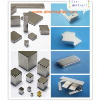 China ndfeb magnet manufacturer for N48 Nickel Block Manufactures